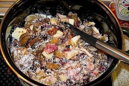 Brombeer - Apfel - Pflaumen Marmelade 3