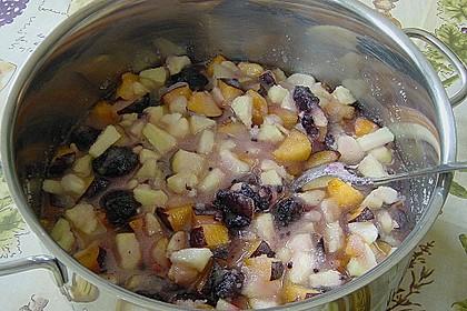 Brombeer - Apfel - Pflaumen Marmelade 5