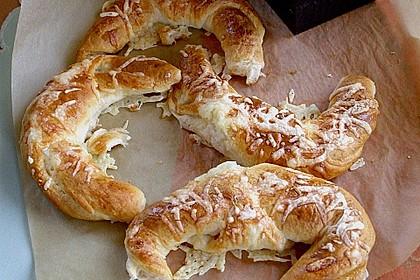 Croissants á la Cordon bleu 8