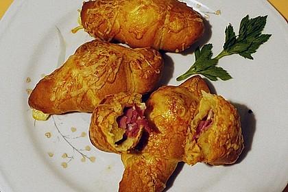 Croissants á la Cordon bleu 4