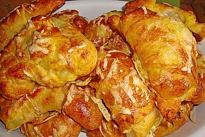 Croissants á la Cordon bleu 6