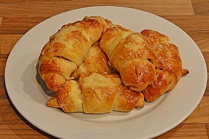 Croissants á la Cordon bleu 3
