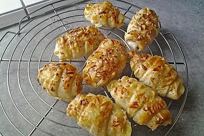 Croissants á la Cordon bleu 9