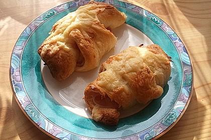 Croissants á la Cordon bleu 5
