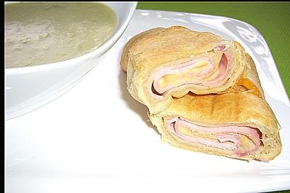 Croissants á la Cordon bleu 1