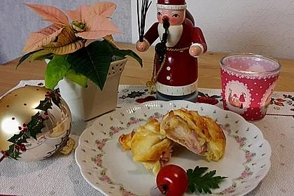 Croissants á la Cordon bleu