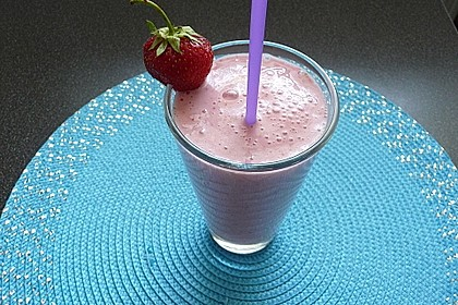 Erdbeer - Smoothie 10