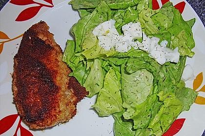 Kopfsalat mit Ei - Dressing 1