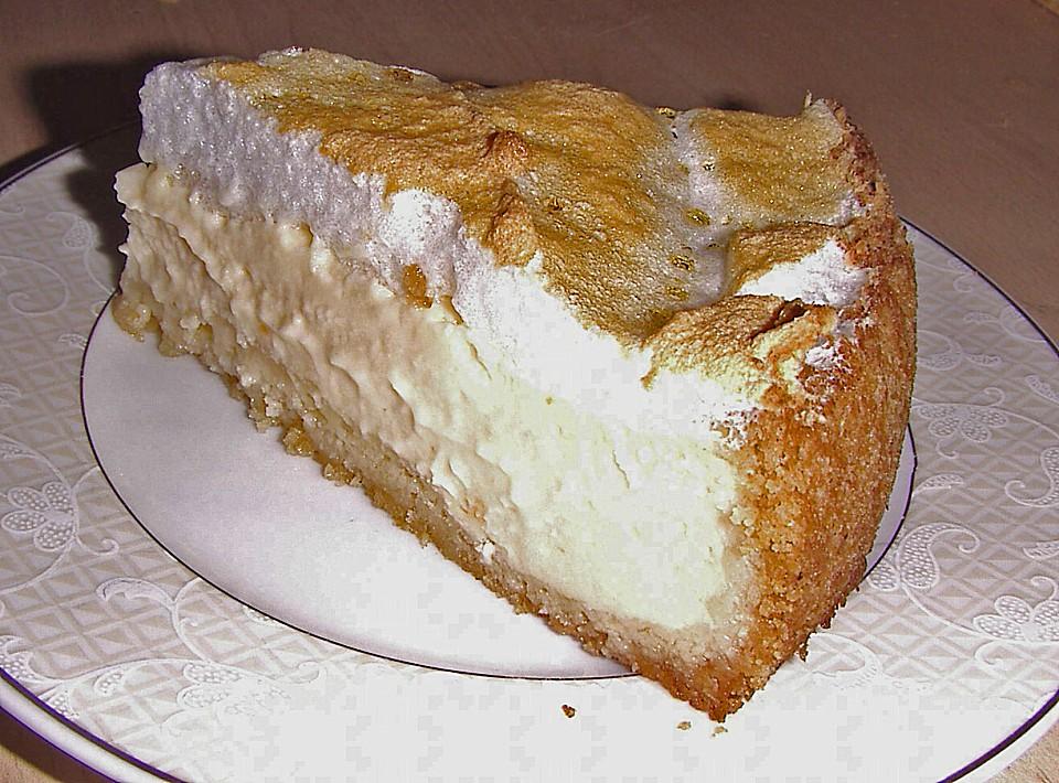 Kuchen mit eischnee