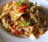 Reisfleisch mit Paprika
