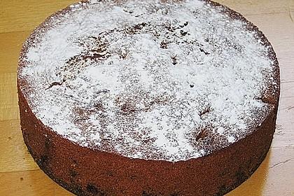 Rotweinkuchen mit Kirschen 4