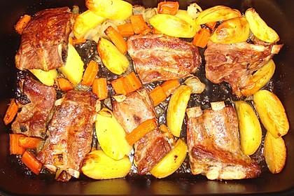 Rippchen mit Kartoffeln 4