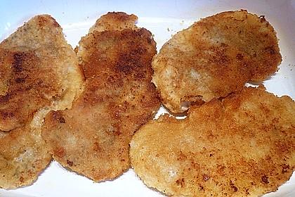 Schnitzel mit Spargel und Käse überbacken 5