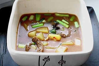 Thai - Töpfchen mit Rindfleisch 12
