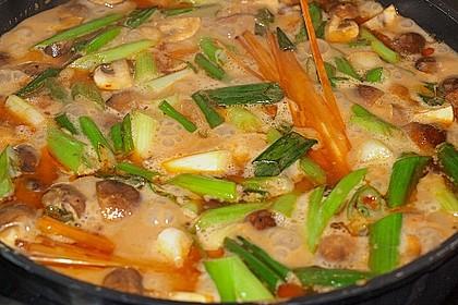 Thai - Töpfchen mit Rindfleisch 10