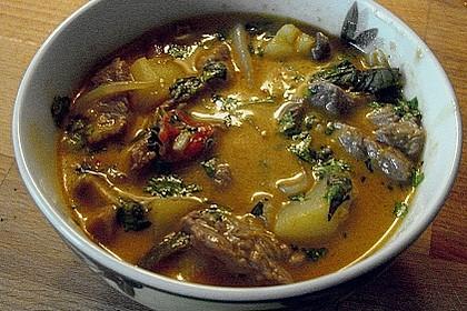 Thai - Töpfchen mit Rindfleisch 11