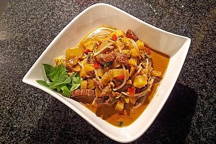 Thai - Töpfchen mit Rindfleisch 6