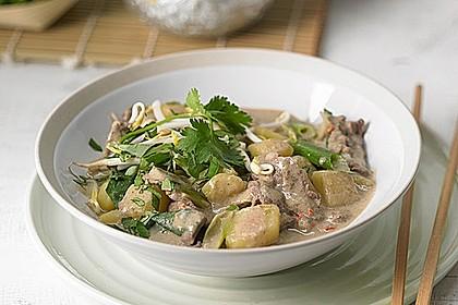 Thai - Töpfchen mit Rindfleisch 1
