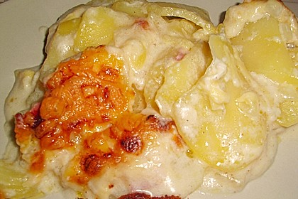 Kartoffelgratin 10
