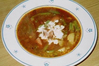 Bohnen-Tomaten-Suppe 2