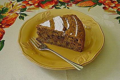 Hildes Kürbis - Schoko Kuchen 1