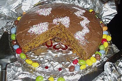 Hildes Kürbis - Schoko Kuchen 14