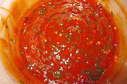 Scharfe Honig - Soße zum Fondue 3