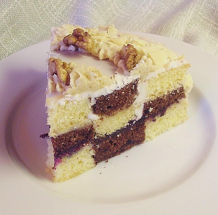 Schwarz - Weiß Kuchen (Rezept Mit Bild) Von Mima53 | Chefkoch.De