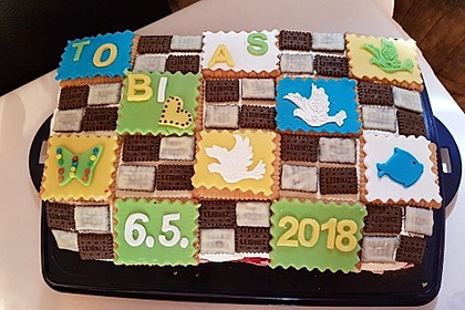 Butterkeks-Himbeer-Kuchen 14