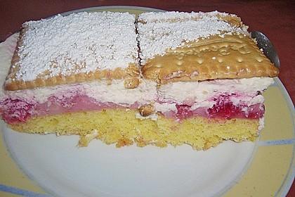 Butterkeks-Himbeer-Kuchen 46
