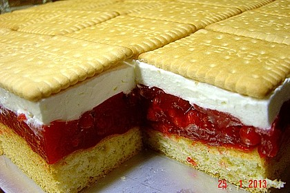 Butterkeks-Himbeer-Kuchen 6