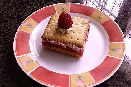 Butterkeks-Himbeer-Kuchen 12