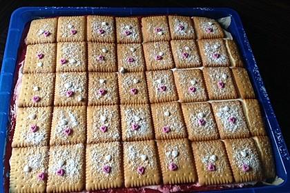 Butterkeks-Himbeer-Kuchen 41