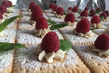 Butterkeks-Himbeer-Kuchen 3