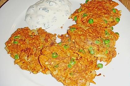 Kalorienarme Gemüseküchlein 32