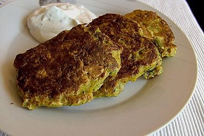 Kalorienarme Gemüseküchlein