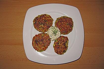 Kalorienarme Gemüseküchlein 17