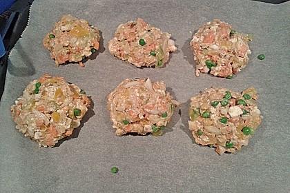 Kalorienarme Gemüseküchlein 22