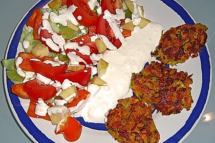 Kalorienarme Gemüseküchlein 16