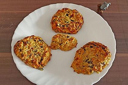 Kalorienarme Gemüseküchlein 4