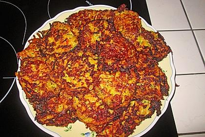 Kalorienarme Gemüseküchlein 15