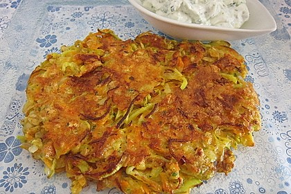 Kalorienarme Gemüseküchlein 2