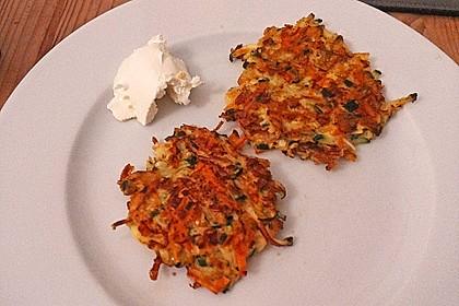 Kalorienarme Gemüseküchlein 13