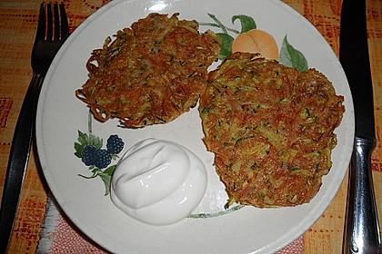 Kalorienarme Gemüseküchlein 14