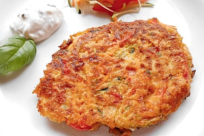 Kalorienarme Gemüseküchlein 8