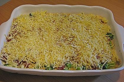 Gemüse - Lasagne mit Brokkoli und Champignons 3