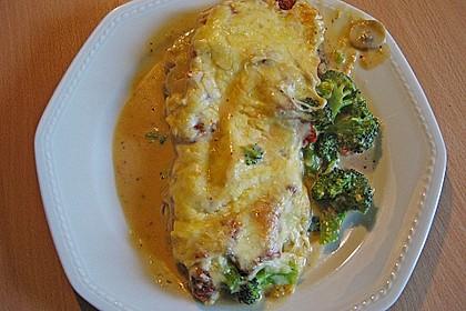 Gemüse - Lasagne mit Brokkoli und Champignons
