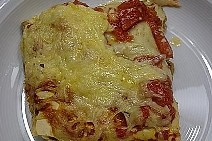 Gemüse - Lasagne mit Brokkoli und Champignons 2