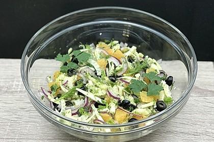 Italienischer Orangen - Fenchel Salat