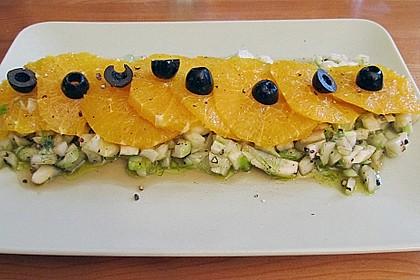 Italienischer Orangen - Fenchel Salat 1